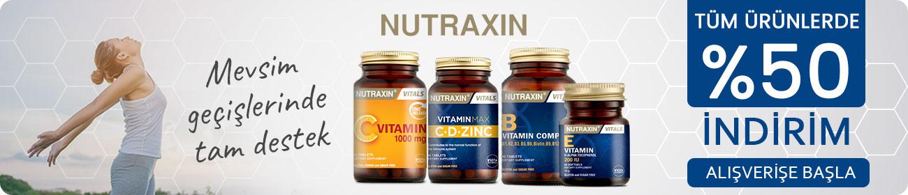 nutraxin %50 indirim