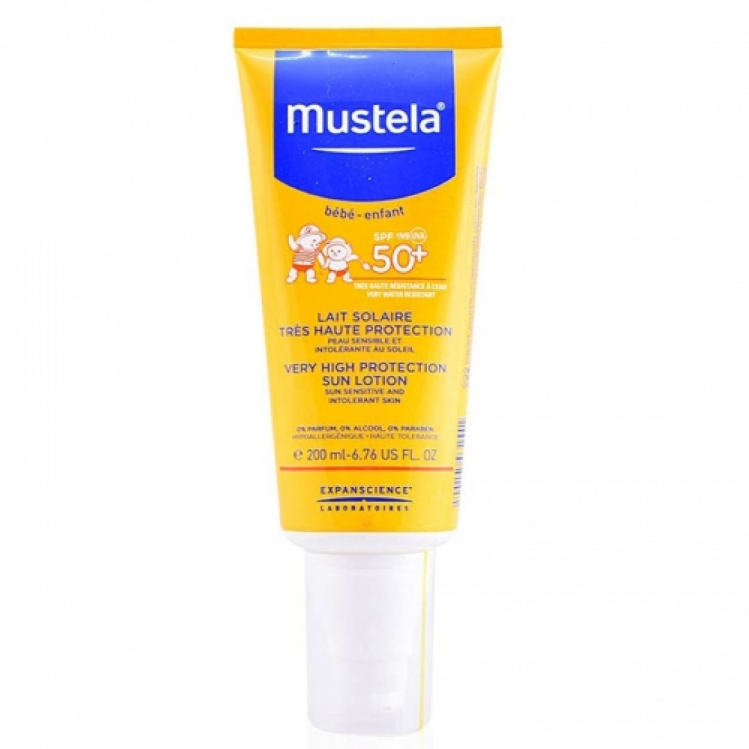 Mustela Very High Protection Sun Lotion SPF50+ 200 ml - Kozmopol