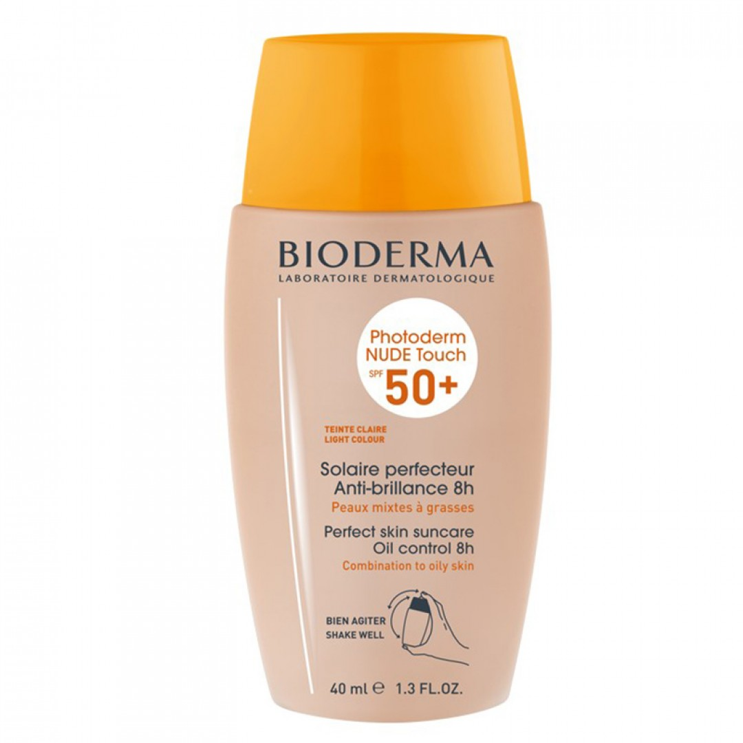 Bioderma Photoderm Nude Touch Spf 50+ Light Renkli Güneş Koruyucu 40 ml