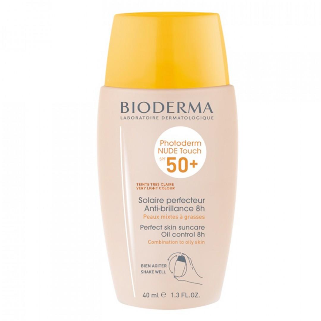 Bioderma Photoderm Nude Touch Spf 50+ Natural Renkli Güneş Koruyucu 40 ml