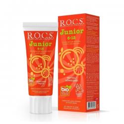 ROCS Junior Meyveli Gökkuşağı Diş Macunu 74 g (6-12 Yaş)