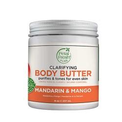 Petal Fresh Pure Mandarin Mango Body Butter Nourishing With Vitamin 237 ml