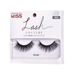 Kiss Lash Couture Faux Mink Komple Takma Kirpik - KLCS03C - Midnight