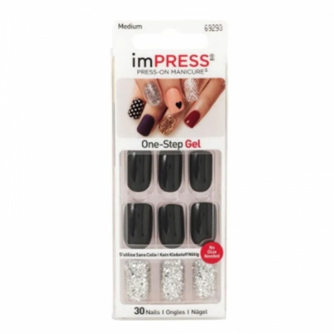 imPress One Step Gel Takma Tırnak 30 Nail 69293 | Play It Loud Medium - Kozmopol