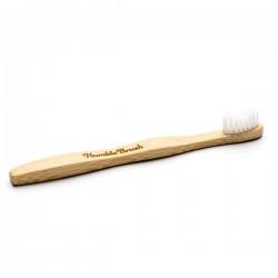 Humble Brush Doğal Yumuşak Çocuklar için Diş Fırçası - Beyaz