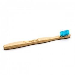 Humble Brush Doğal Yumuşak Çocuklar için Diş Fırçası - Mavi