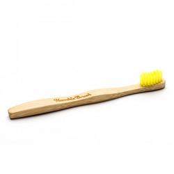 Humble Brush Doğal Yumuşak Çocuklar için Diş Fırçası - Sarı