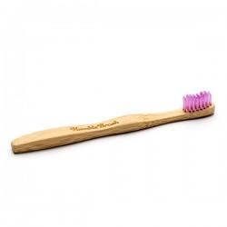 Humble Brush Doğal Yumuşak Çocuklar için Diş Fırçası - Lila