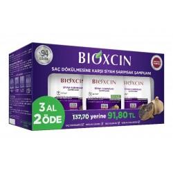 Bioxcin Saç Dökülmesine Karşı Siyah Sarımsak Şampuanı 300 ml | 3 al 2 öde