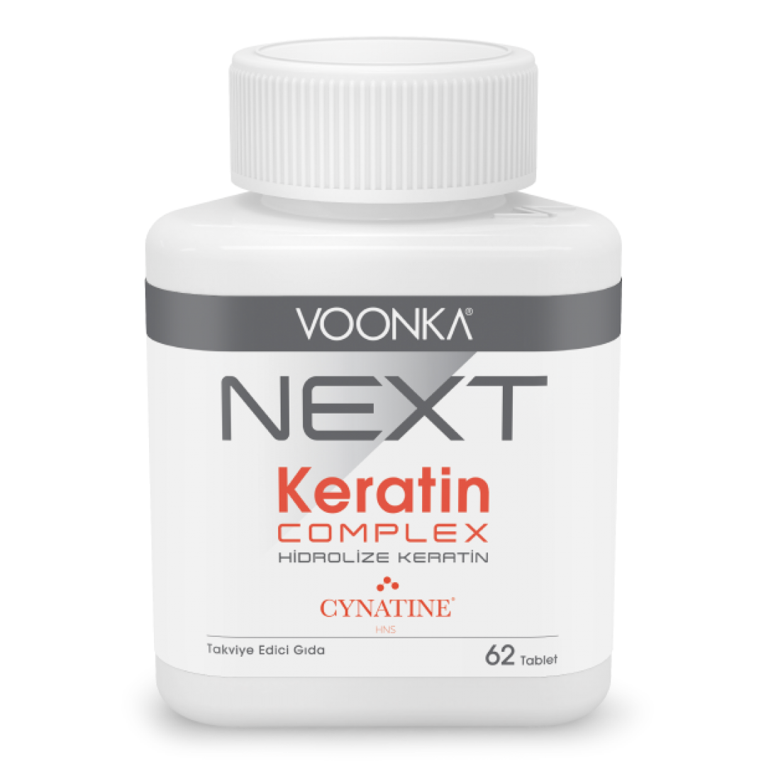 Voonka Next Hidrolize Keratin Complex Takviye Edici Gıda 62 Tablet