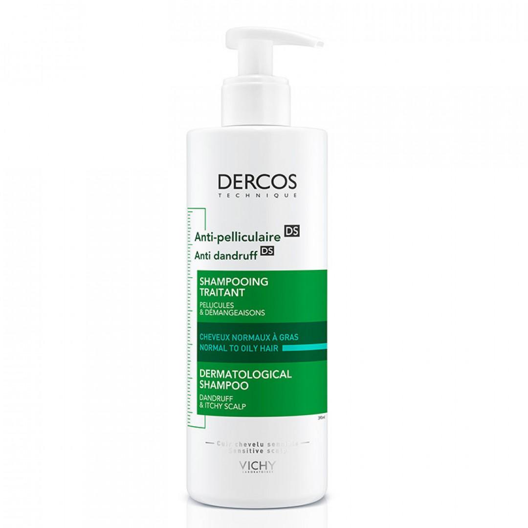 Vichy Dercos Anti Dandruff Kepek Karşıtı Şampuan 390 ml - Normal ve Yağlı Saçlar