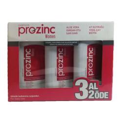 Prozinc Boyalı ve İşlem Görmüş Saçlar için Şampuan 3 x 300 ml