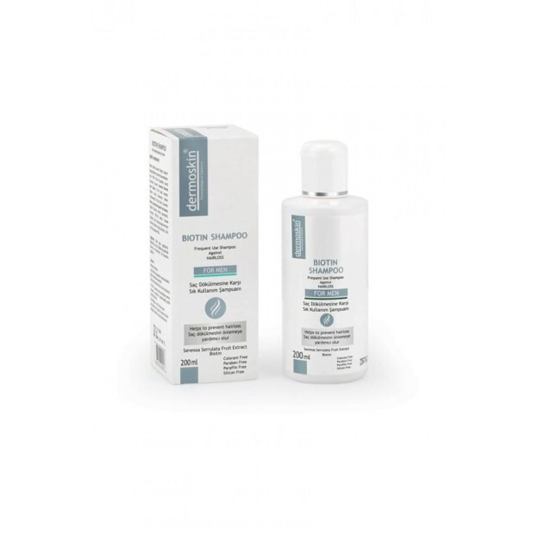 Dermoskin Biotin Shampoo For Men 200 ml - Erkek - Kozmopol