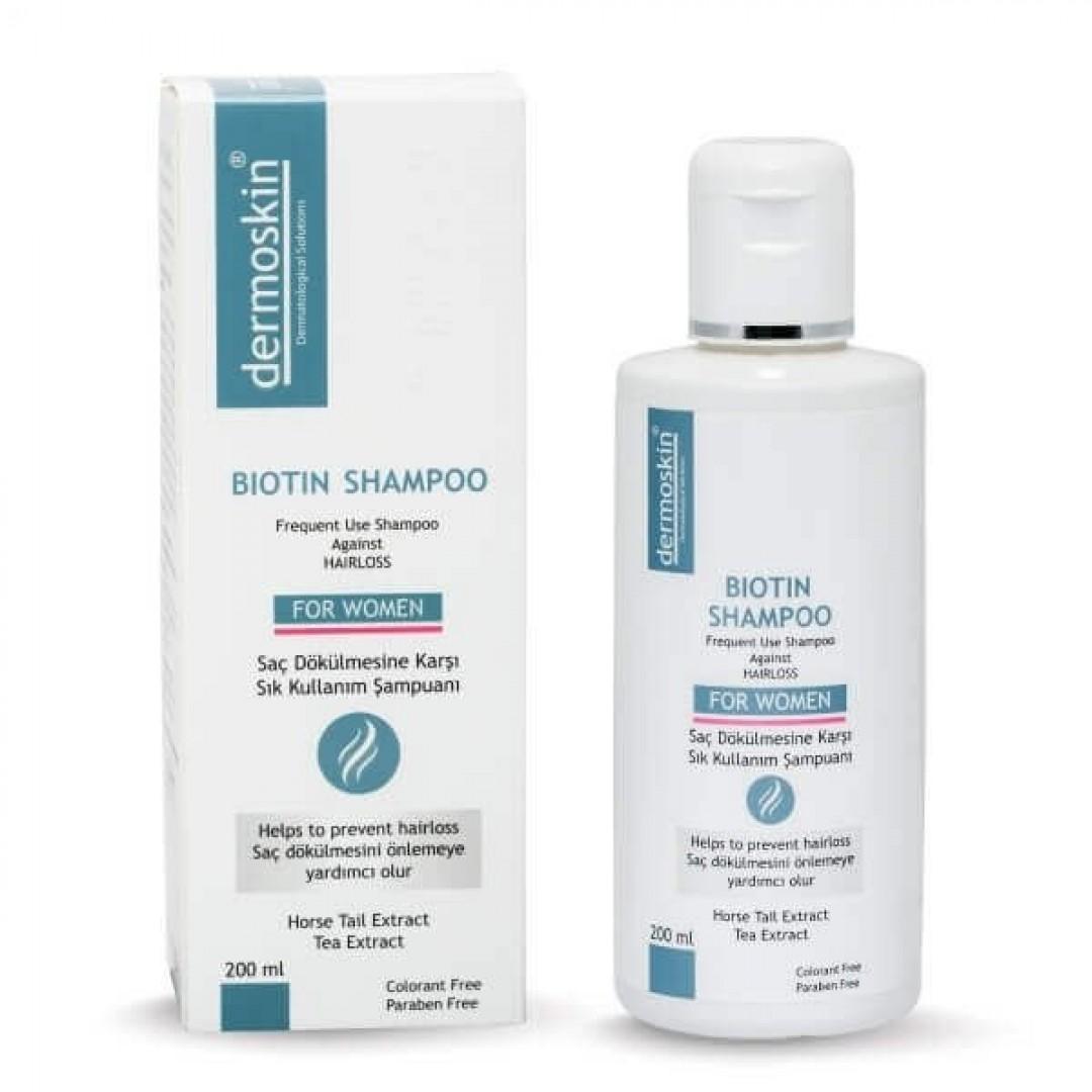 Dermoskin Biotin Şampuan 200 ml - Kadın - Kozmopol