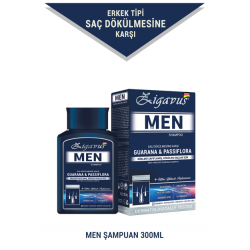 Zigavus Erkekler İçin Saç Dökülme Karşıtı Şampuan 300 ml