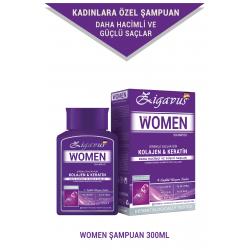 Zigavus Women Kolajen Keratin Şampuan 300 ml