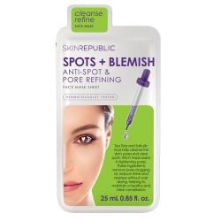 Skin Republic Noktalar + Leke Yüz Maskesi 25 ml