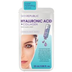 Skin Republic Hyaluronic Acid + Collagen Maske 25 ml