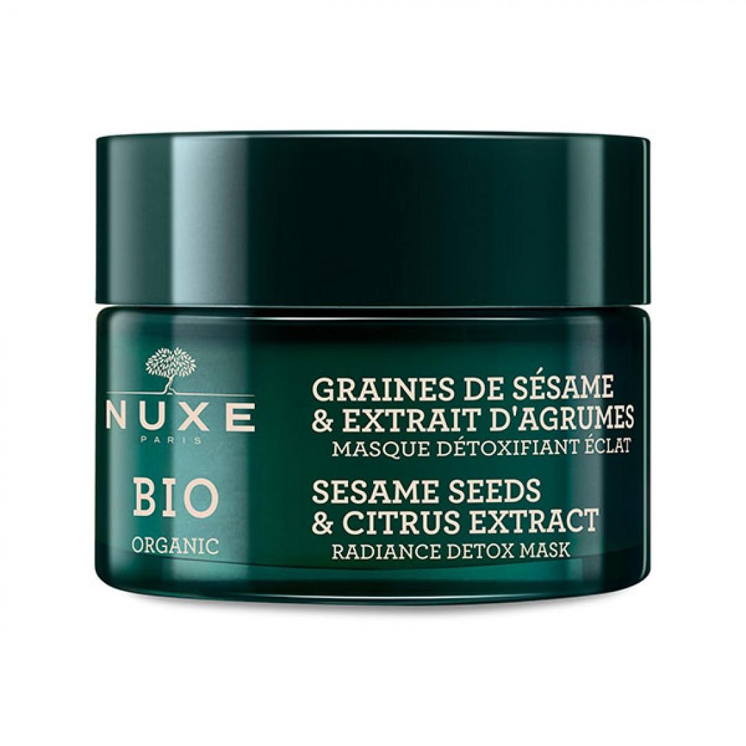Nuxe Bio Organic Detoks Etkili Aydınlatıcı Maske 50 ml - Kozmopol