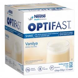 Nestle Optifast Milk Shake Vanilyalı 12 Saşe