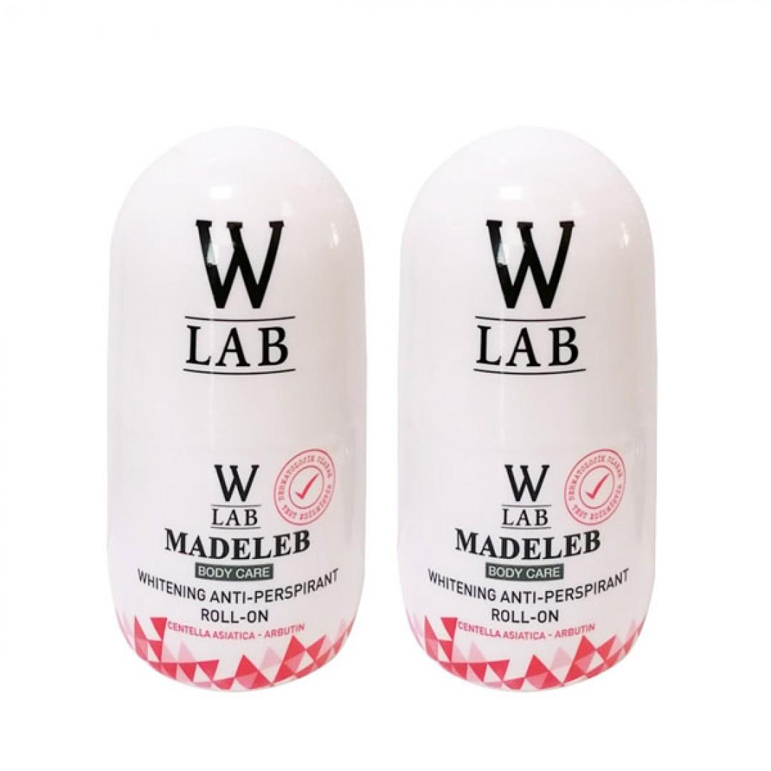 W-lab Madeleb Roll-on 50 ml x 2 Adet - Kozmopol