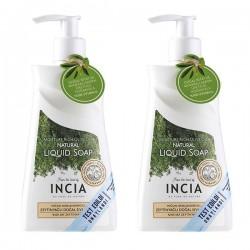 INCIA Yoğun Nemlendiricili Zeytinyağlı Sıvı Sabun 2x250 ml