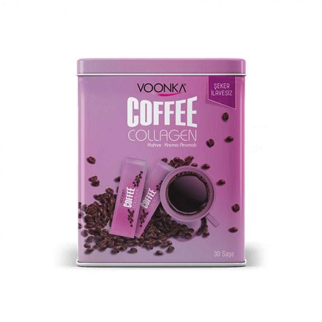 Voonka Coffee Collagen Cream Kahve Krema Aromalı 30 Saşe
