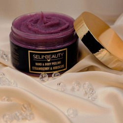 Selin Beauty Çilek - Hibiscus El & Vücut Peeling 250 ml