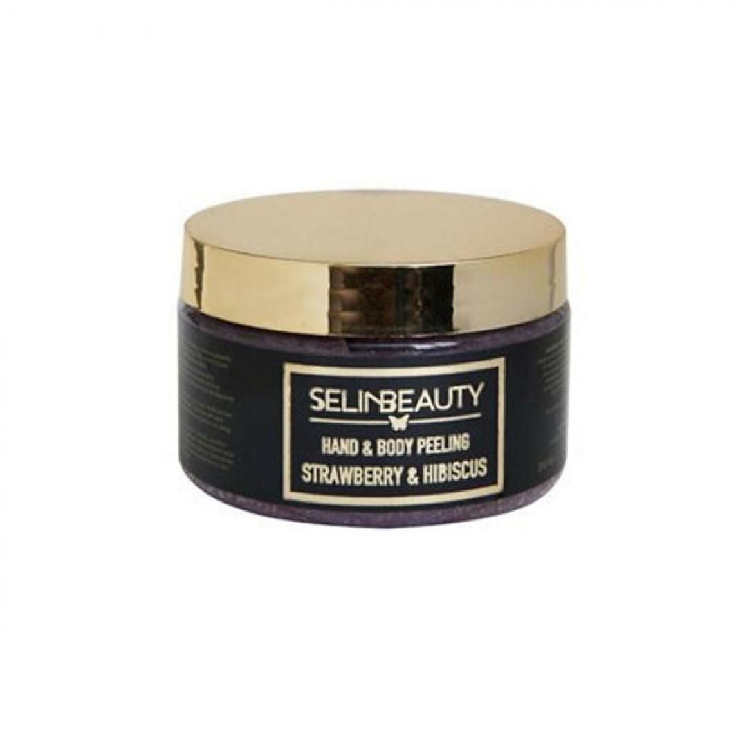 Selin Beauty Çilek - Hibiscus El & Vücut Peeling 250 ml - Kozmopol