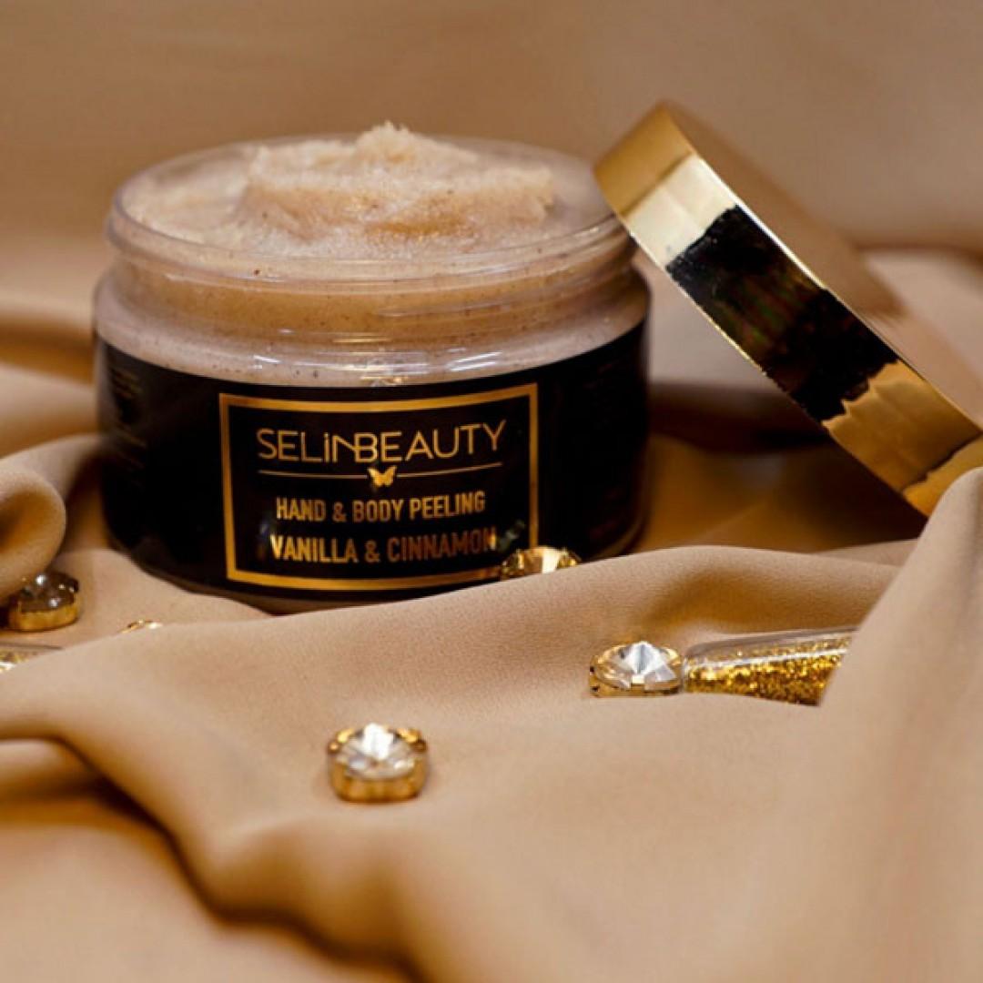 Selin Beauty Vanilya - Tarçın El & Vücut Peeling 250 ml - Kozmopol