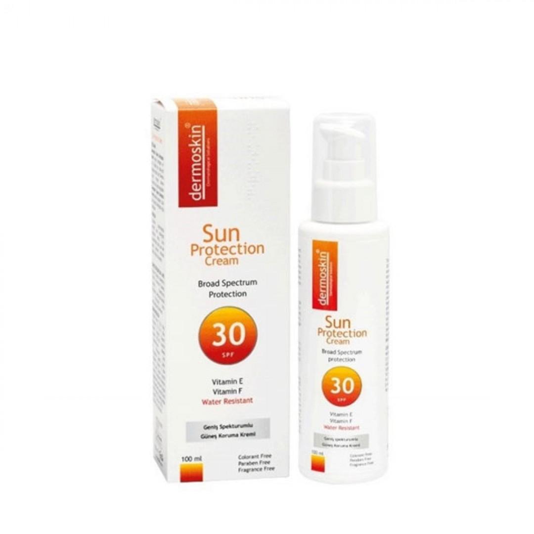 Dermoskin Güneş Koruyucu Krem SPF 30+ 100 ml - Kozmopol