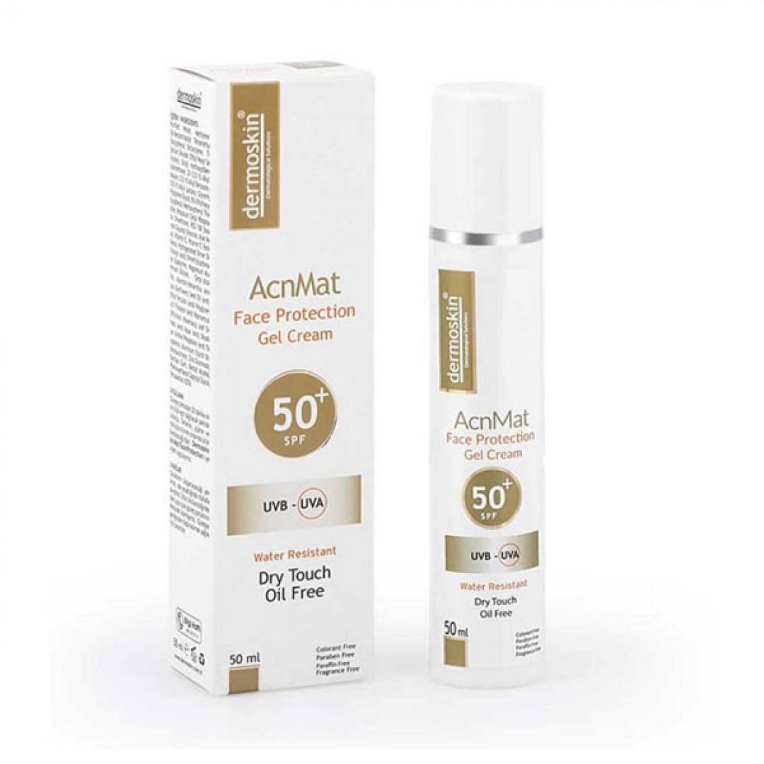 Dermoskin AcnMat SPF 50+ Güneş Koruyucu Jel Krem 50 ml