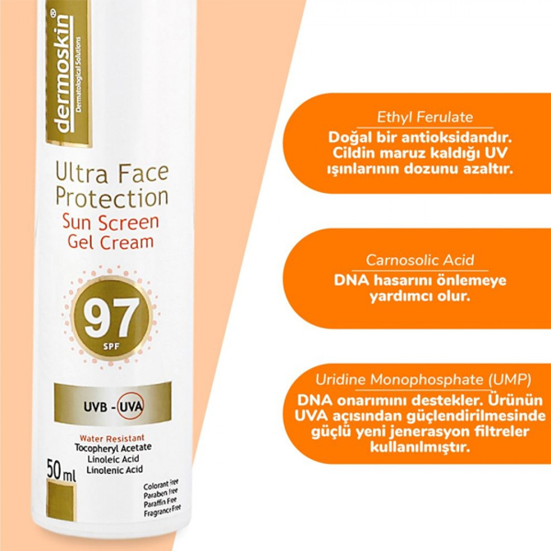Dermoskin Ultra Face Protection SPF97 50ml - Kozmopol