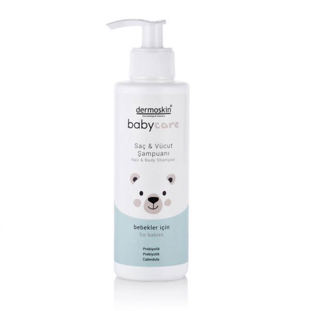 Dermoskin Babycare Saç ve Vücut Şampuanı 230 ml - Kozmopol