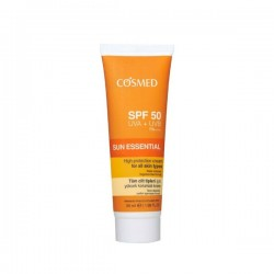 Cosmed Tüm Cilt Tipleri için Yüksek Korumalı Krem SPF50 50 ml