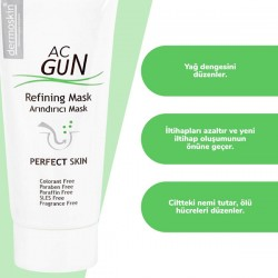 Dermoskin AcGun Arındırıcı Maske 30 ml + Yüz Yıkama Jeli 200 ml